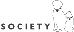 Chesapeake Humane Society reverse logo